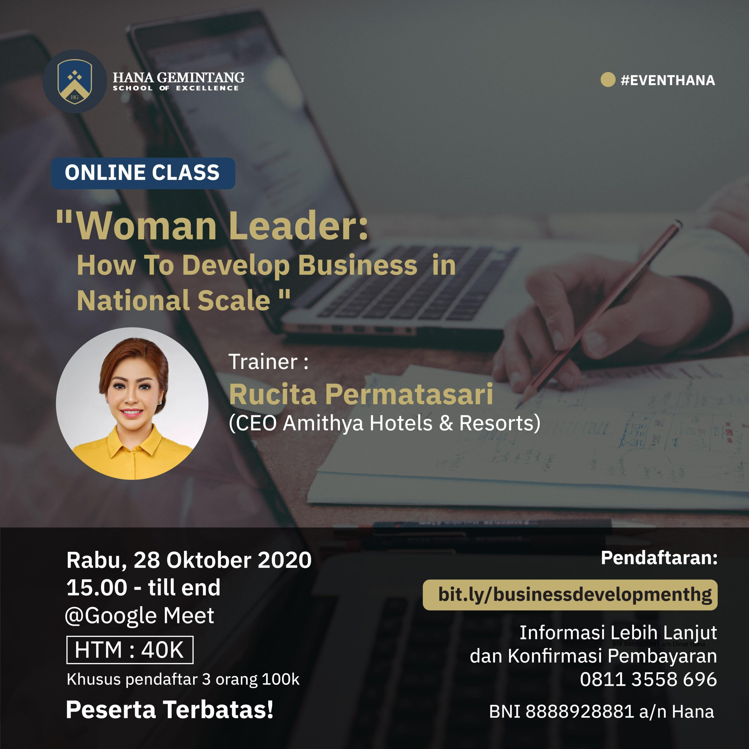 Hana Gemintang - Woman Leader : Develop Business in National Scale
